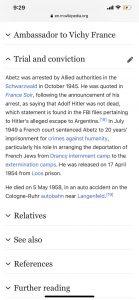 自由党议员阿贝兹的叔父 /图:维基百科
